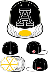 Prototype Cap Collectors Item - Big A - Black