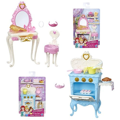 Disney Princess Mini Environment Playsets