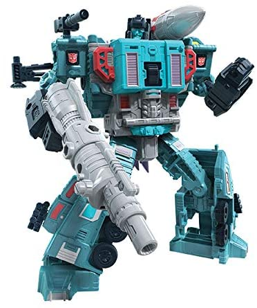 Transformers Generations War for Cybertron Earthrise Leader Doubledealer