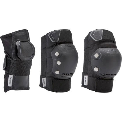 Adult Inline Skate 3-Piece Protection Set Fit500