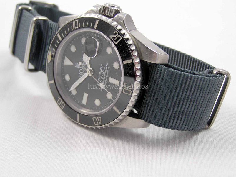 Use a NATO strap to rejuvenate your watch...