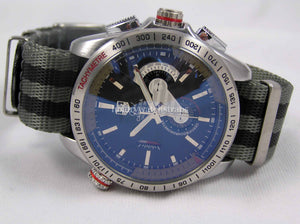 Reverse Bond Ultimate Dense Twill Weave NATO® strap for Tag Heuer Carrera Watch 20mm