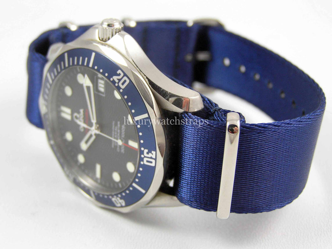 Blue Dense Twill™ NATO® for ALL watches size 20mm
