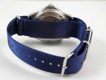 Load image into Gallery viewer, Blue Dense Twill™ NATO® for ALL watches size 20mm