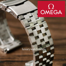 Load image into Gallery viewer, Ultimate solid stainless steel strap band for Omega Seamaster Speedmaster Planet Ocean watches - screws not pins