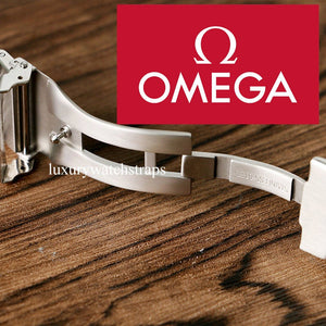 Ultimate solid stainless steel strap band for Omega Seamaster Speedmaster Planet Ocean watches - screws not pins