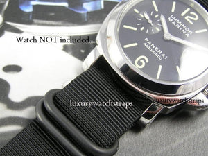Superb ballistic nylon Zulu G10 Nato® watch strap for Panerai RXW PAM 22mm 24mm Watch