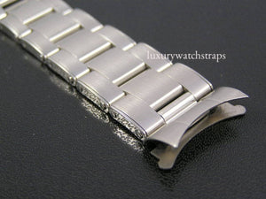 Solid stainless steel oyster rivet bracelet for Vintage Rolex Oyster Watches 20mm