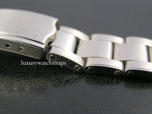 Load image into Gallery viewer, Solid stainless steel oyster rivet bracelet for Vintage Rolex Oyster Watches 20mm