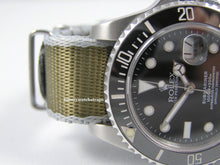 Load image into Gallery viewer, Ultimate Dense Twill Weave NATO® strap for Rolex Submariner GMT Yacht-Master Deep Sea Sea Dweller 20mm (No Watch - Strap ONLY)