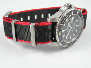 Ultimate Dense Twill Weave NATO®  strap for Rolex Submariner Yacht-Master GMT Daytona Sea Dweller Deep Sea 20mm (No Watch - Strap Only)