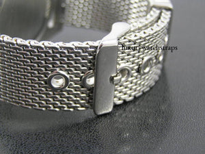 Superior steel shark mesh bracelet strap for Seiko Watch Watches 6309 7002 SKX007 SKX009 18mm 20mm 22mm NO WATCH