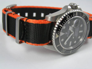 Ultimate Dense Twill Weave NATO®  strap for Omega Aqua Terra Co-Axial Chronometer 20mm (NO Watch - Strap ONLY)