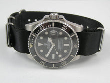 Load image into Gallery viewer, Ultimate Dense Twill Weave NATO® Spectre Bond strap for Rolex Submariner Yacht-Master GMT Daytona 20mm (No Watch - Strap Only)