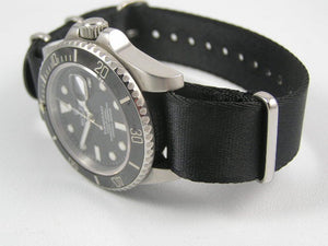 Ultimate Dense Twill Weave NATO® Spectre Bond strap for Rolex Submariner Yacht-Master GMT Daytona 20mm (No Watch - Strap Only)