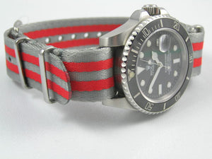 Ultimate Dense Twill Weave NATO® Double strap for Tag Heuer Formula One Aqua-Racer Monaco Carrera 20mm (No Watch - Strap Only)