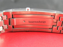 Load image into Gallery viewer, Heavy solid steel strap for Omega Seamaster, Planet Ocean, 007.  Solid end links. 316L premium grade. 20mm (No Omega markings)