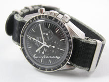 Load image into Gallery viewer, Ultimate James Bond Spectre Dense Twill Weave NATO® strap for Omega Speedmaster Moon Watch 20mm (NO watch. STRAP only)