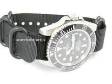 Load image into Gallery viewer, Ballistic nylon Zulu G10 Nato® strap for Rolex Submariner Daytona  GMT Deep Sea 18mm 20mm 22mm