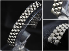 Load image into Gallery viewer, Stainless Steel Bracelet Strap for Rolex Ladies President Datejust Watch 13mm. High quality replacement bracelet.