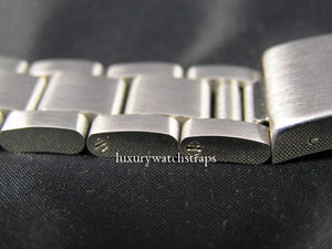 Solid stainless steel Oyster bracelet for Rolex Datejust Yachtmaster Watch Watches 20mm (No WATCH)
