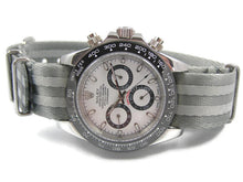 Load image into Gallery viewer, Ultimate Dense Twill Weave NATO® strap for Rolex Daytona Watch 20mm  James Bond Spectre Vintage Connery (NO Watch - Strap ONLY)