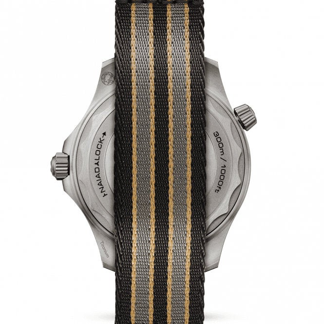 GIFT PACK 3 x Ultimate James Bond 007  Dense Twill Weave NATO® straps for Swiss Watches -Connery, Spectre , No Time to Die Natos - 20mm