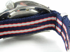 Ultimate Dense Twill™ Weave NATO® strap for all Seiko 20mm Watches   (No Watch - Strap Only)