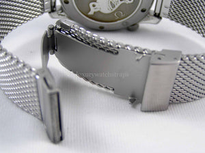 Superior steel Milanese James Bond No Time to Die mesh bracelet strap for Omega Seamaster Planet Ocean 20mm 22mm NO WATCH