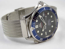 Load image into Gallery viewer, Superior steel refined mesh bracelet strap for Omega Seamaster Watch 20mm (NO WATCH)