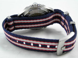 Ultimate Dense Twill Weave NATO® strap for Omega Seamaster Planet Ocean Watch 20mm 22mm(No Watch - Strap Only)