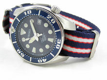 Load image into Gallery viewer, Ultimate Dense Twill™ Weave NATO® strap for all Seiko 20mm Watches   (No Watch - Strap Only)