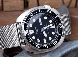 Superior steel Milanese James Bond No Time to Die mesh bracelet strap for Seiko 20mm 22mm Divers Watches SKX007 9 6309 7002 7S26 NO WATCH