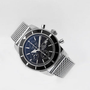 Superior steel Milanese James Bond No Time to Die mesh bracelet strap for Breitling Watches 20mm 22mm  NO WATCH