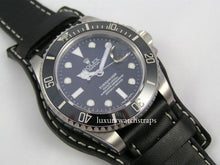 Load image into Gallery viewer, Superb leather bund strap for Seiko Dive Marinemaster Prospex Watches 6309 7002 SKX007 SKX009 20mm 22mm - back in stock!