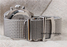 Load image into Gallery viewer, Superior steel Milanese Milanaise mesh bracelet strap for Seiko Watches 20mm 22mm