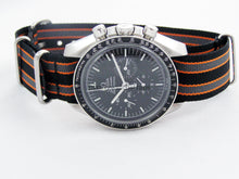 Load image into Gallery viewer, Ballistic nylon Nato® watch strap for Omega Speedmaster Seamaster Planet Ocean watches 20mm