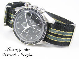"James Bond ""No Time to Die"" Dense Twill NATO® strap for ALL 20 and 22mm watch models"