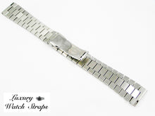 Load image into Gallery viewer, Solid stainless steel President Bracelet for Longines 20mm & 22mm watches. Straight End Links. Superb quality. Features screw links.