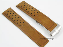 Load image into Gallery viewer, HIGH QUALITY SUEDE LEATHER STRAP FOR TAG HEUER WATCHES 22mm