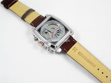 Load image into Gallery viewer, New Leather Deployment watch strap for Tag Heuer Watches 18mm 20mm 22mm 24mm Black Brown