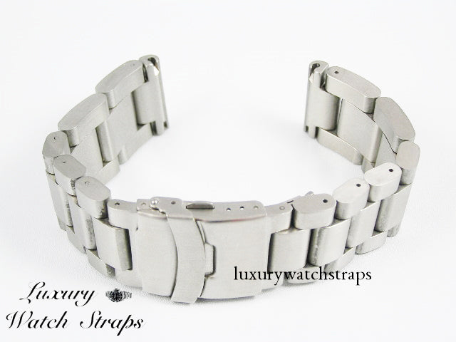 Ultimate Heavy Stainless Steel Strap for Citizen Eco Drive watch 22mm 24mm 26mm