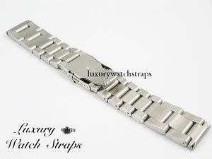Ultimate Heavy Stainless Steel Strap for ALL 22mm 24mm 26mm Watches