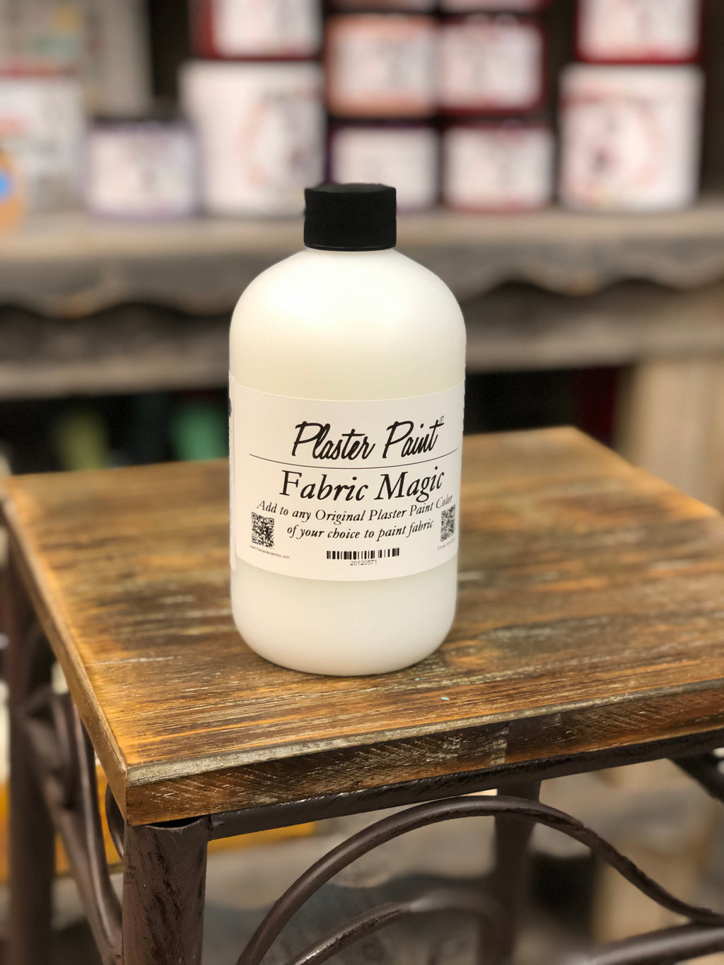 Fabric Magic- A Plaster Paint Product