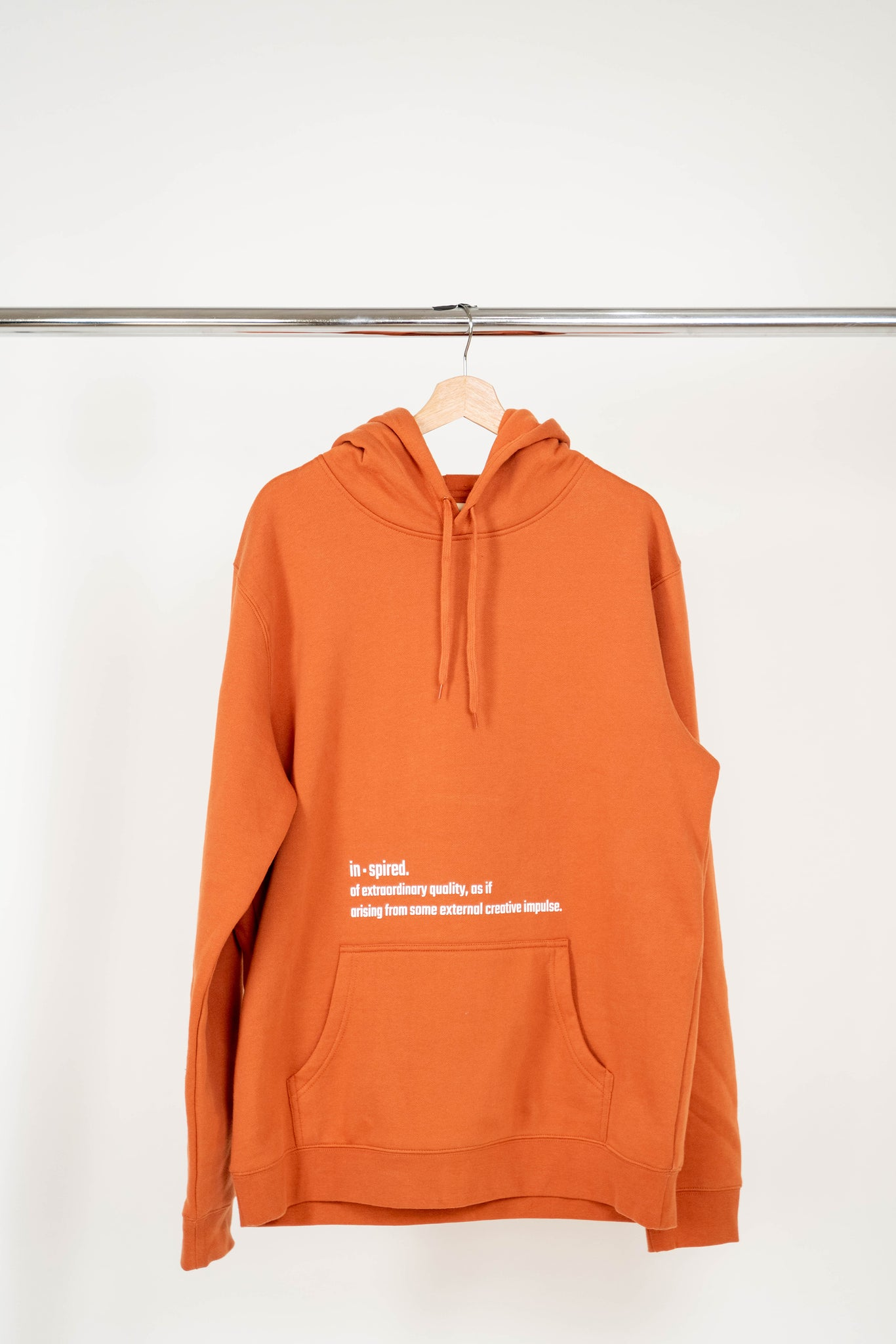 In·spired Copper Hoodie