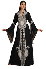 Load image into Gallery viewer, Cocktail Party Wear Designer Abaya (Bulk Purchase Only)