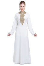 Load image into Gallery viewer, Tea Party Wear Evening Gown Nighty Dress For Saudi Arabian Ladies