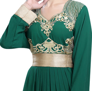 Dubai Uniquiely Embroidered Kaftan For Bulk Orders