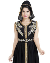 Load image into Gallery viewer, JASMINE DESIGNER MOROCCAN FUSTAN DRESS
