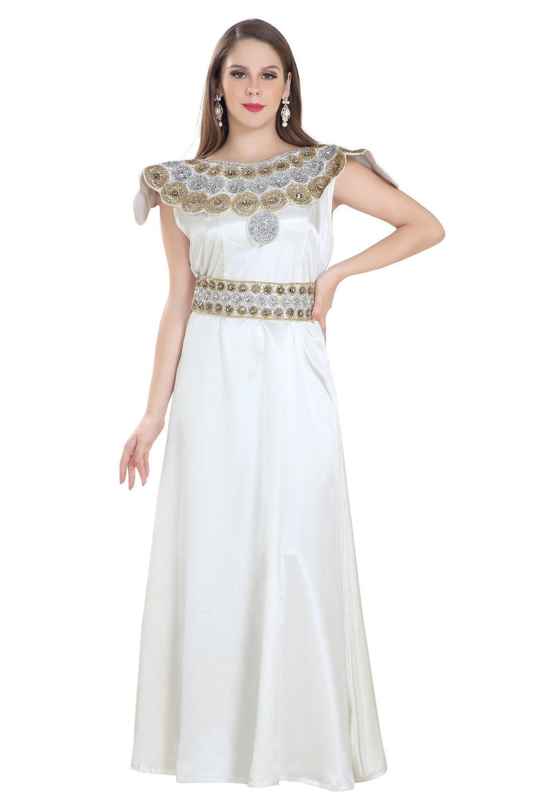 Jasmine Bridesmaid Dress Fashionable Iranian Fustan Maxi